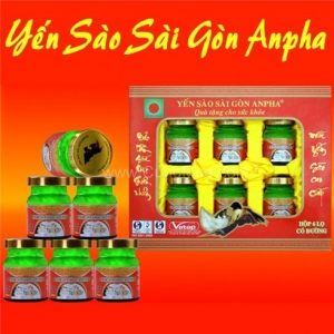Yến sào Sài Gòn Anpha  mua 1 tặng 2 lon nước yến