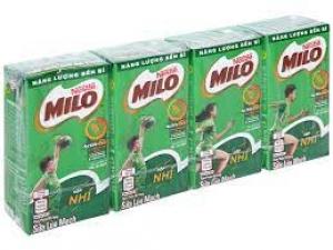 Sữa milo lứa mạch hộp nhí lốc 4