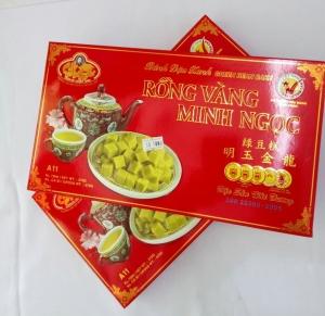 Bánh đậu xanh rồng vàng Minh Ngọc Hải Dương A11 470gr