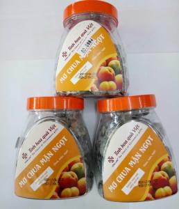 Omai mơ chua mặn ngọt Hồng Lam 200gr