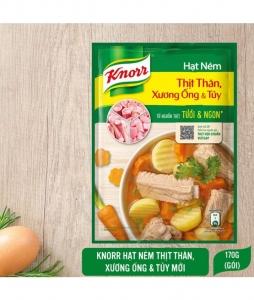 Hạt nêm Knorr thịt thăn tươi và ngon  170gr