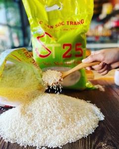 Gạo ST 25 đặc sản sóc trăng 5kg