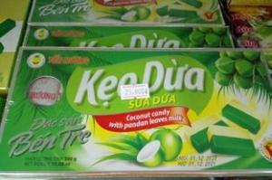 Kẹo dừa sữa dứa Yến Hương 300gr