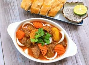 Thịt bò nấu sốt vang kiểu pháp 600gr/hộp