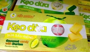 Kẹo dừa sữa sầu riêng Yến Hương 400gr