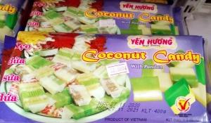 Kẹo dừa sữa dứa Yến Hương 400gr