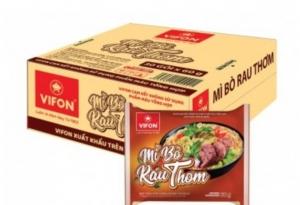 Mỳ bò rau thơm 60gr VIFON