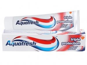 KĐR  Aquafresh bộ ba bảo vệ khoẻ nướu - chắc răng -thơm miệng