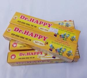 Kem đánh răng trẻ em DR. Happy hương mật ong 45gr