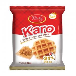 Bánh Karo trứng tươi chà bông Hoàng Kim