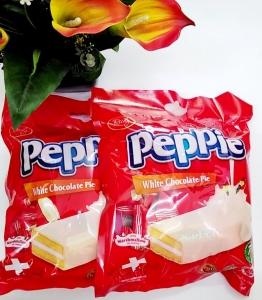 Bánh bông lan phủ socola trắng 216gr giảm 30%