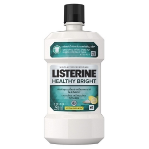 NSM Listerine healthy bright 250ml